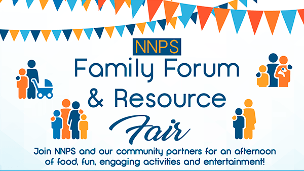 NNPS Family Forum and Resource Fair, April 27, Heritage High School